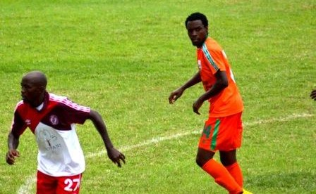 The hopefull Jackson Mwanza is ready to articulate to form for the CAF Champions League