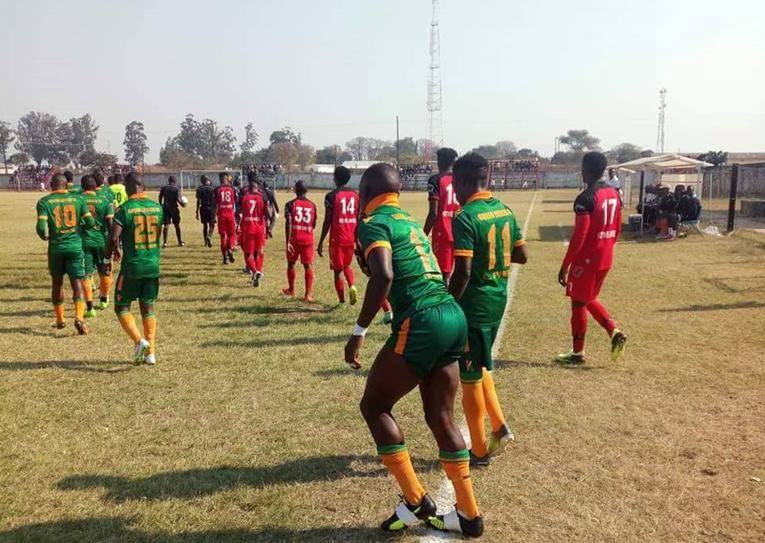 Green Eagles vs Kitwe United 6